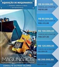 Crédito Para Maquinários Novos ou Seminovos
