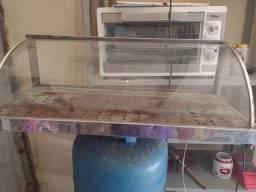 Estufa usada grande sem bandejas