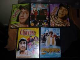Lote DVDs Chaves Com Brindes.