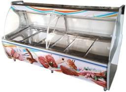 Título do anúncio: Balcão Refrigerado Expositor Carnes 2,50m Imponente