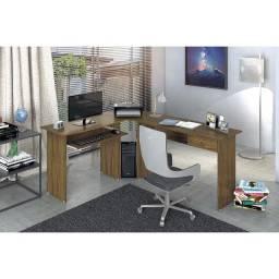 Escrivaninha Estação de Trabalho Max para Computador