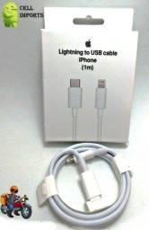 Título do anúncio: Cabo Carregador iPhone 11 E 12 Tipo C X Lightning