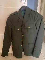 Título do anúncio: túnica verde (5ºA1 exército brasileiro)