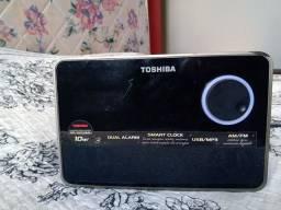 Título do anúncio: Rádio relógio portátil Toshiba