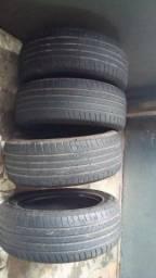 Título do anúncio: Vendo jogo de pneus aro 18 235/55
