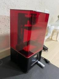 Título do anúncio: Impressora 3d de Resina Elegoo Mars 2 PRO Usada - Curitiba e Região