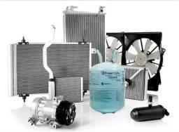 Nucleo,Evaporador,Condensador,Compressor,rolamento,válvula,magnético,embreagem,mangueira