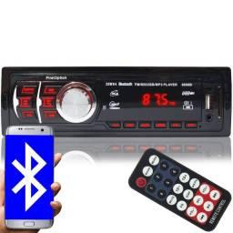 <br>Som Automotivo 8850B Mp3 Bt Fm Usb Sd Aux Controle Remoto 8850B, Cd E Mp3 Player