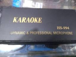 Microfone Dinâmico Karaokê