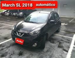 March SL TOP 1.6 automático.  Novo !!