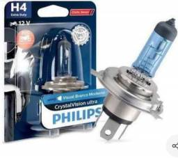 Vendo Philips Lampada Moto H4 Crystal V.