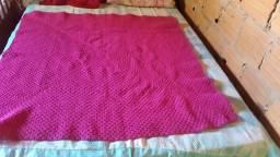 Vendo um tapete de crochê