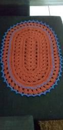 Tapete de croche artesanal