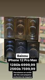 iPhone 12 Pro Max 128gb/256Gb Novo Lacrado