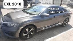 Civic EXL 2018 Miranda