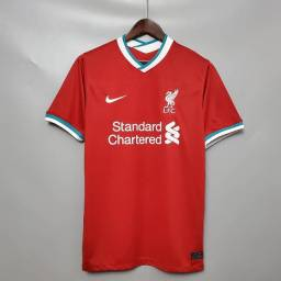 Promoção Camisa Liverpool Home 20/21 s/n° Torcedor (Apenas Venda)