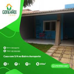 Título do anúncio: Casa com 5/4 no Bairro Aeroporto Vina Del Mar