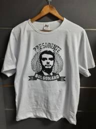 Camiseta  Presidente  Bolsonaro  2022