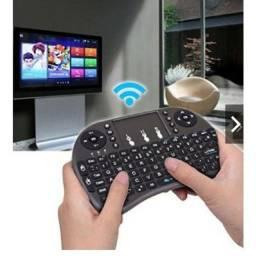 Mini controle tv box pc video game xbox ps3