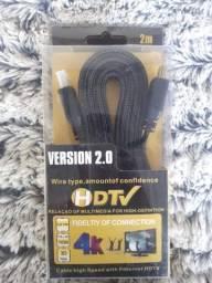 Título do anúncio: Cabo HDMI 4K 2M