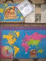 Jogo de Tabuleiro - Onde está Carmen Sandiego
