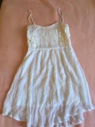 Vestido branco importado
