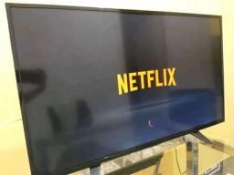 TV AOC Smart 43p com Wi-Fi integrado YouTube Netflix