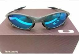 Óculos Oakley Penny xmetal Azul bb Polarizado Novo Frete grátis