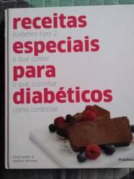 Livros: Confeitaria Dukan e Receitas para diabéticos