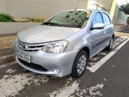 Toyota etios XS 1.3, único dono, com apenas 53 mil km - 2013
