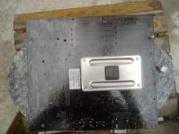 Placa mãe Asus ddr3 + processador AMD A10