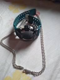 Gchok original .mas cordão novo prata 925
