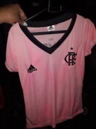 Camisa do Flamengo rosa