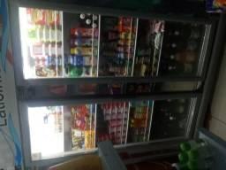 1 balcão auto serviço para frios,refrigerantrs e laticineos