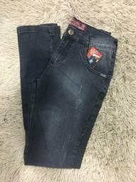 Calça jeans masculina Premium