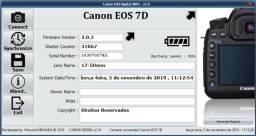 Câmera Canon 7D + Lente Sigma 17-50mm