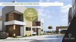 Condomínio Terra Vitta casas dúplex parcelas R$: 517.33 86 - *