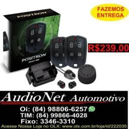 Alarme Positron Ex360 Automotivo Exact Carro Universal Veicular