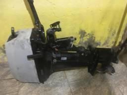 Vendo ou troco motor de popa 15 hp super
