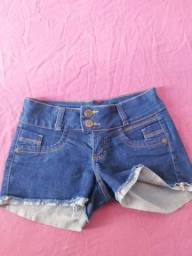 Vendo shorts jeans azul