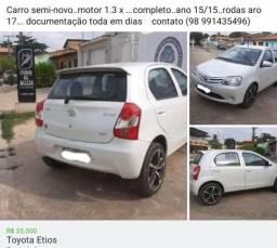 VENDE Toyota Etios completo 1.3 - 2015