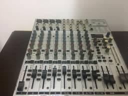 Mixer mesa BEHRINGER EURORACK UB1622 FX PRO 12 canais