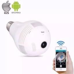 Camera Segurança lampada 360º wifi Ip Hd