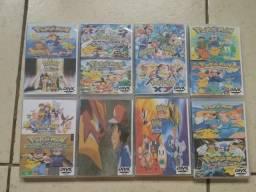 Box Pokemon Mais de 1000 Episódios, Tudo até hoje, exclusivo, só aqui ! filmes , ovas