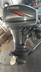 Motor de popa Yamaha 15 HP. Ano 2014 R$5.750,00 - 2014
