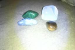 Pedras semi- preciosas opala mala quitá olho de tigresa lapiz lazuliy