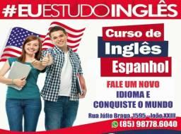 Procura-se Professores Inglês/Espanhol