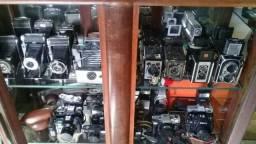 Antigas câmeras fotográficas