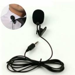 Microfone de lapela p2