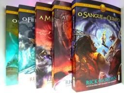 Os herois do olimpo coleção 5 livros